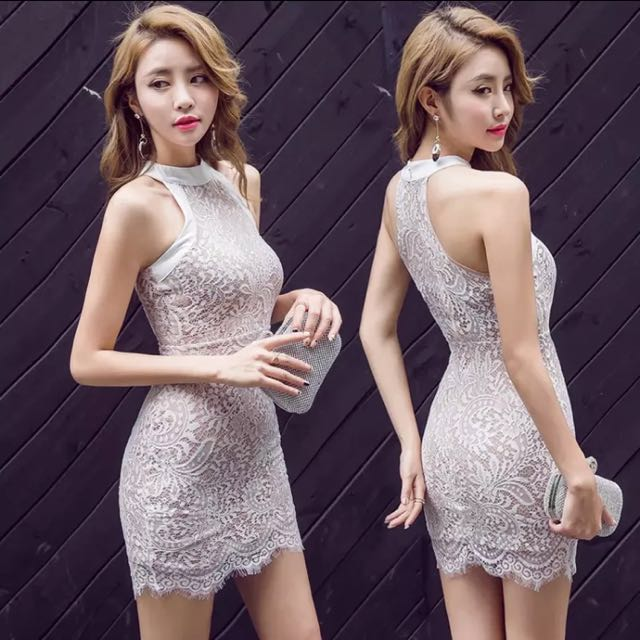 Elegant Lace Bodycon Dress