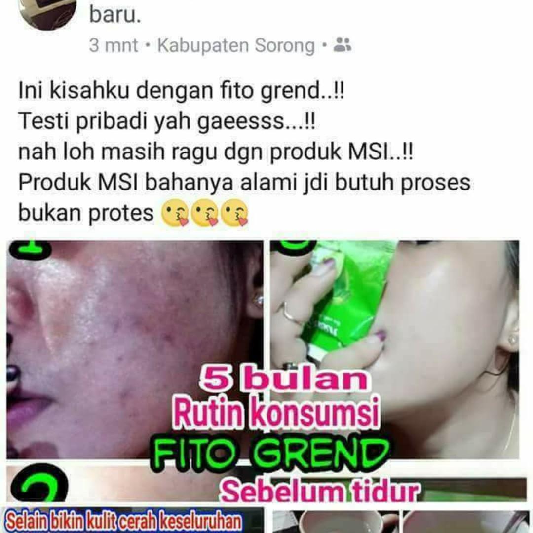 Fito Green Pembasmi Jerawatn Dan Pemutih Health Beauty Skin Ecer Bath Body On Carousell