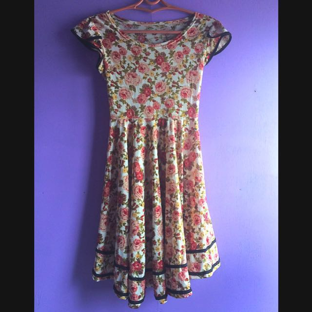 Floral Sunday Dress