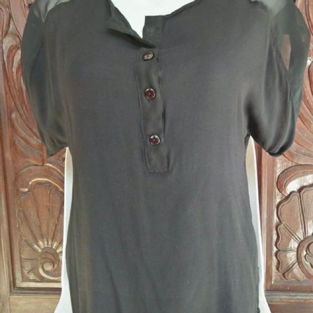 Folded & Hung black blouse