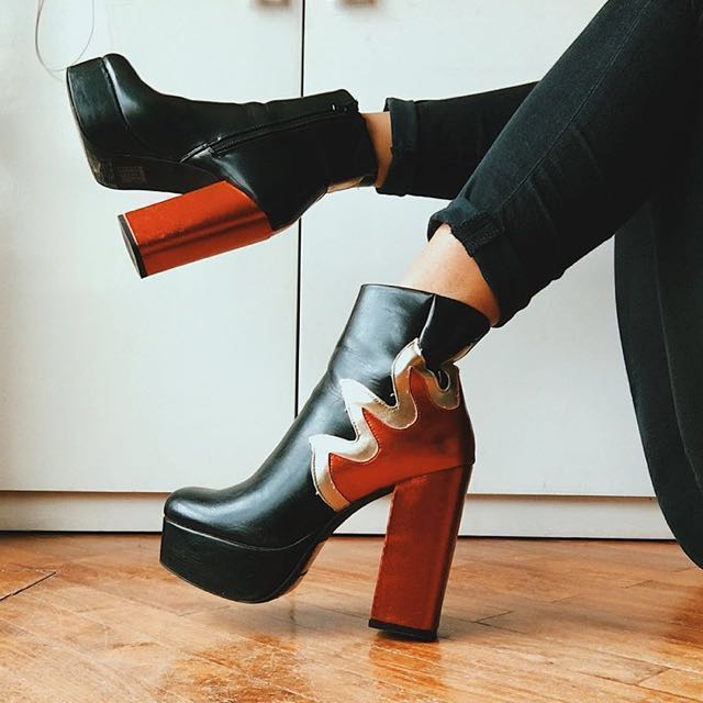 16bd6711b0ba Forever 21 Fire Platform Boots (FREE SHIPPING)