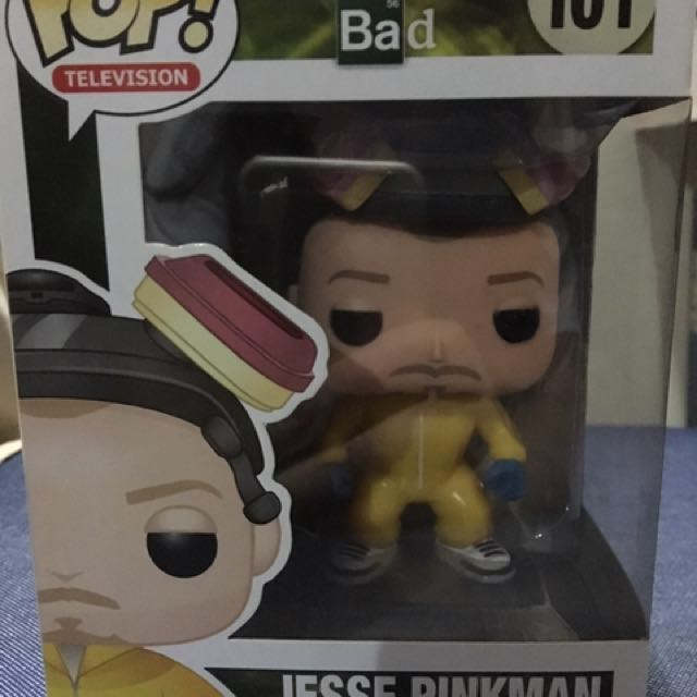 FunkoPop Breaking Bad Jesse Pinkman Figurine (Yellow)