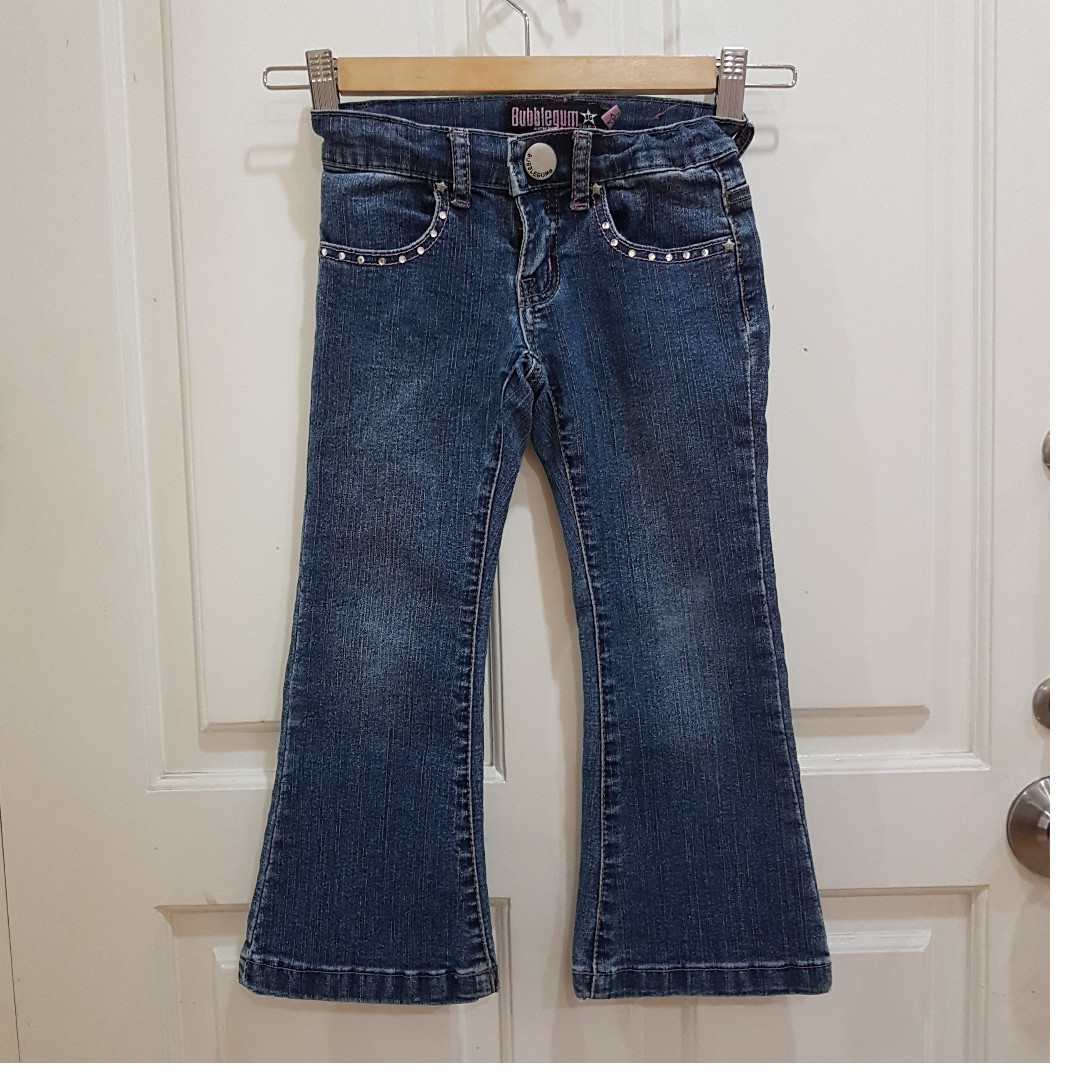 Jeans BUBBLEGUM Pants Girl's 5-6 Years