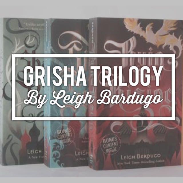 GRISHA TRILOGY By Leigh Bardugo