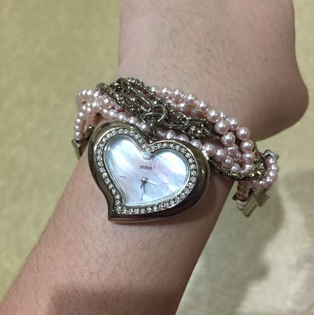 Guess watch heart
