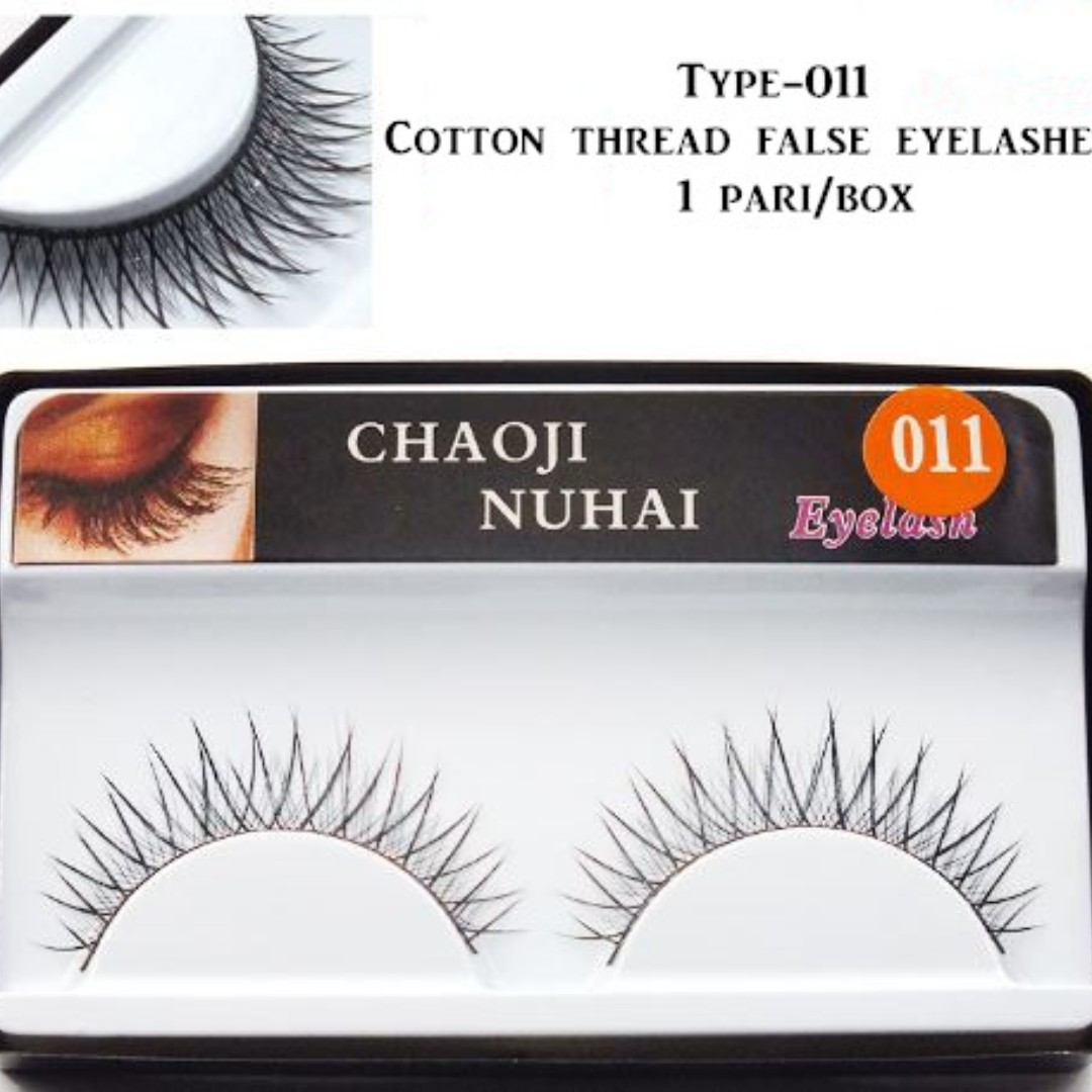 4 Types Handmade Naturally Synthetic False Fake Eyelashes Eye