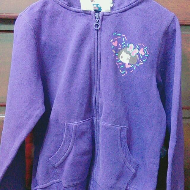 Hang Ten女童紫色外套