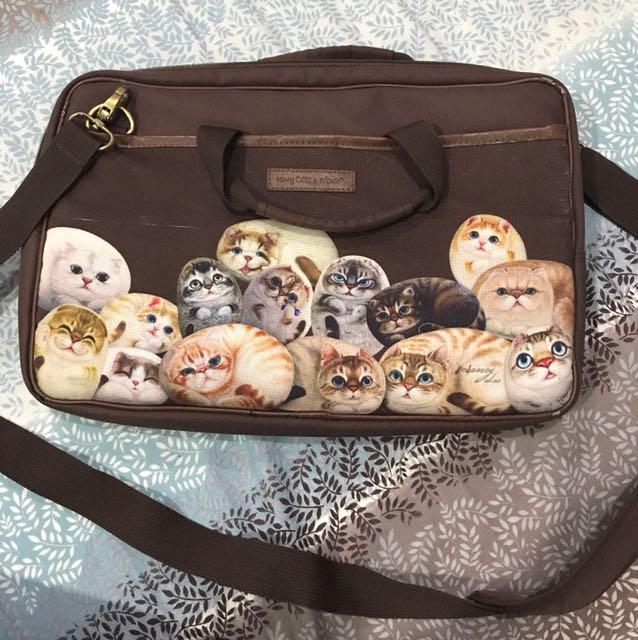 "Henry cats & friends laptop bag 13"""
