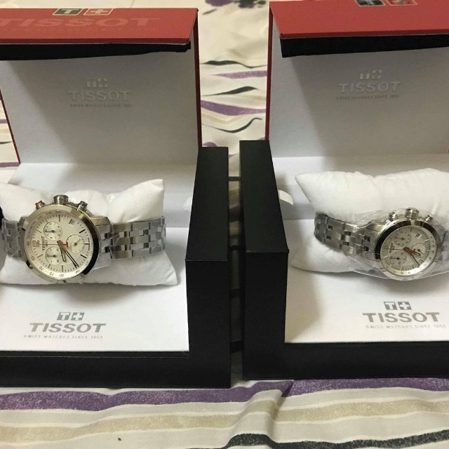 ce18bfef7e3 His & Hers Tissot PRC 200 Chronograph 200 NBA Special Edition ...