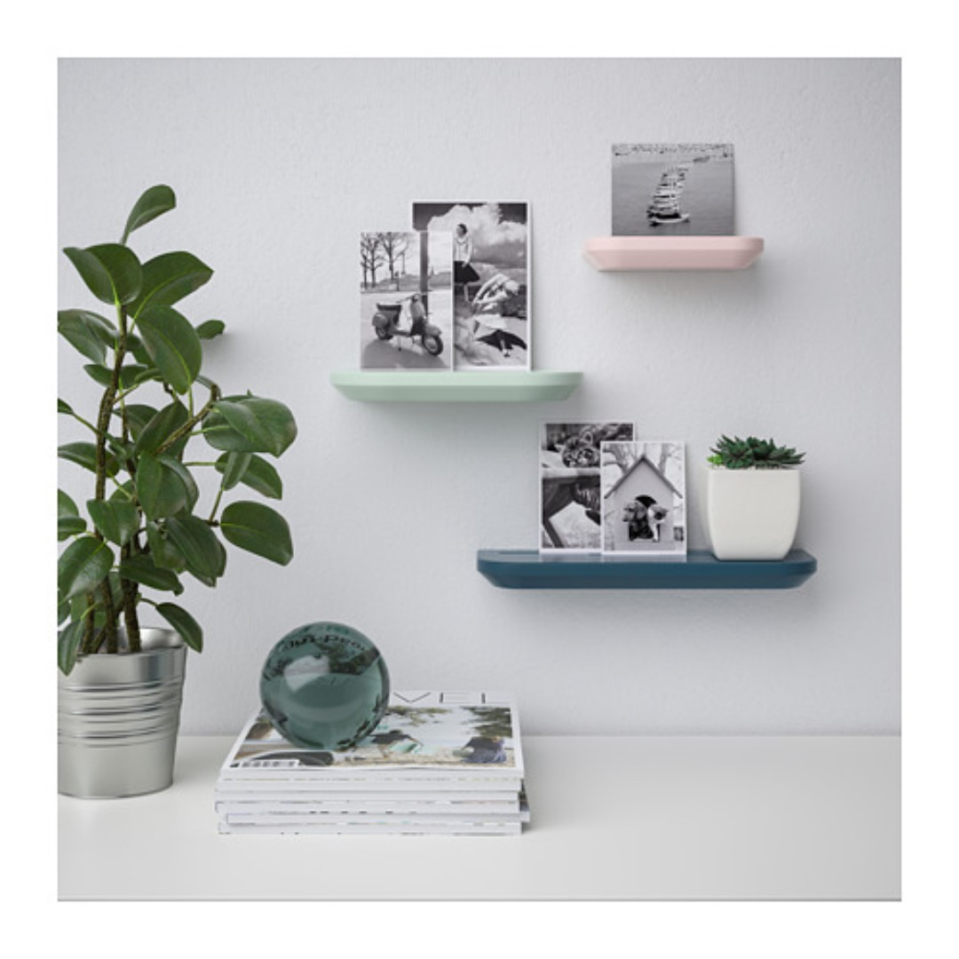 IKEA BILLSASEN picture ledges set Incl delivery & mounting, Home ...