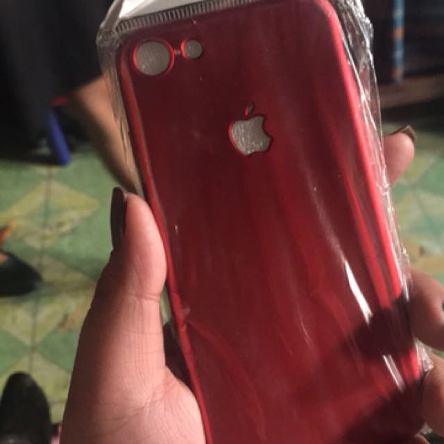 Iphone 7 Matte Red Case