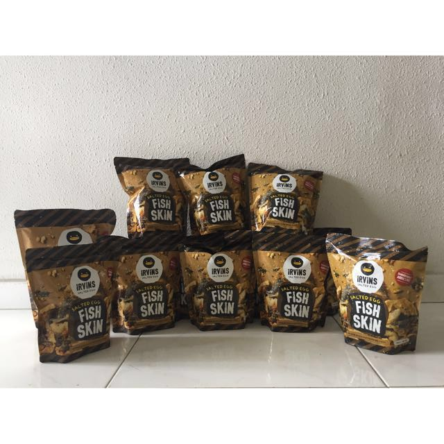 Irvins Salted Egg fish skin - CNY ready stock