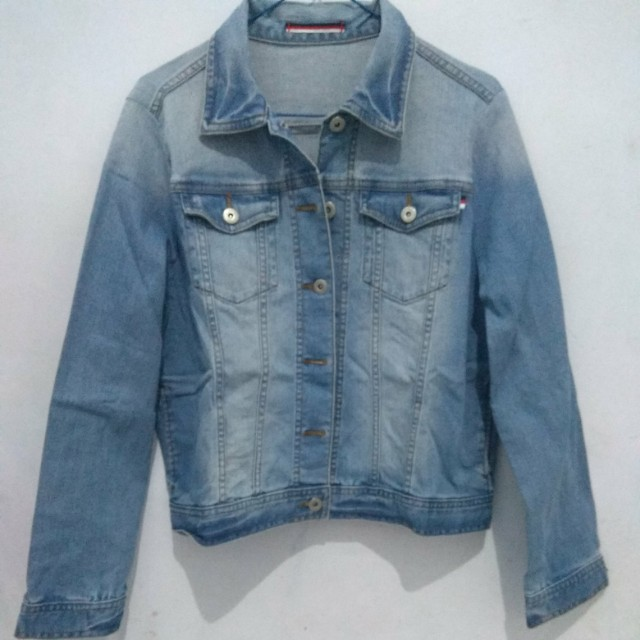 Jacket jeans big size