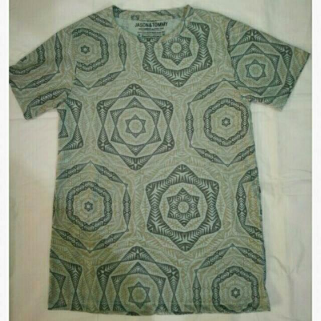 Jason & Tommy Ethnic Print Shirt