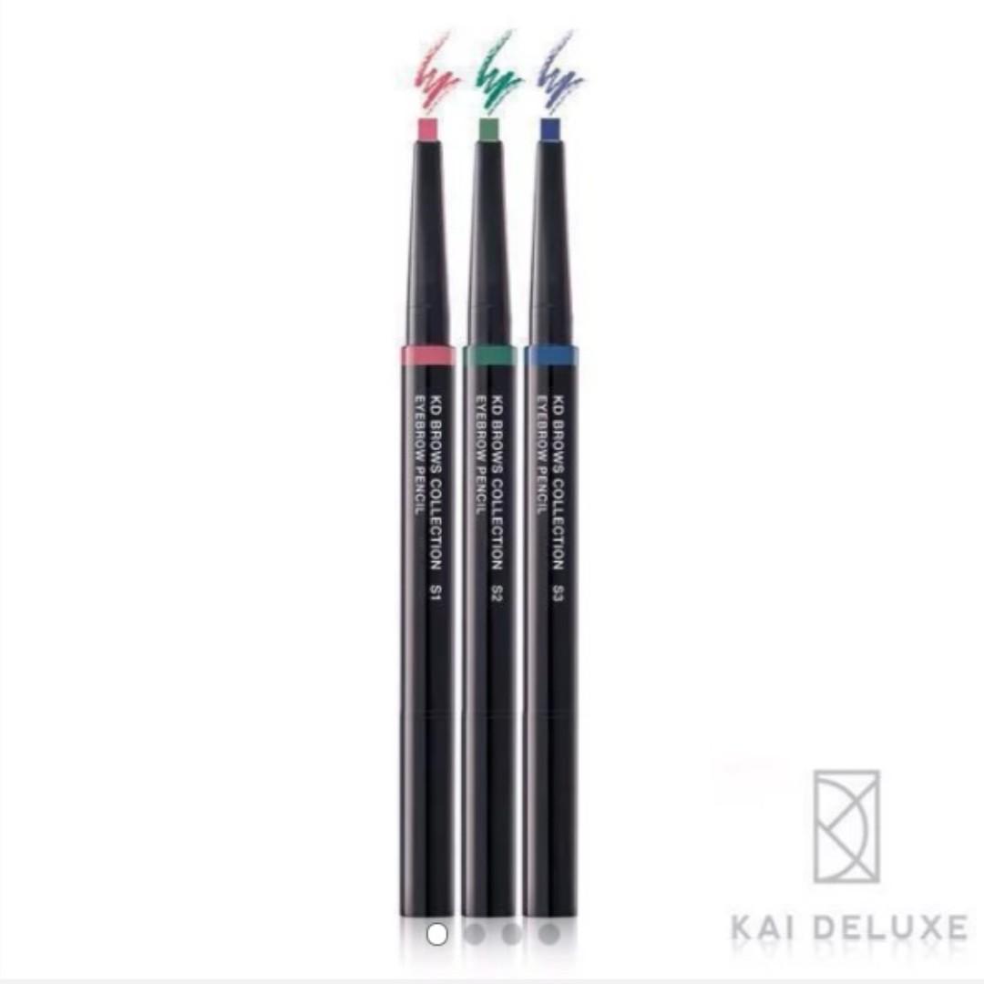 全新-KAI DELUXE 型色大師 炫彩特調眉筆(三入組)