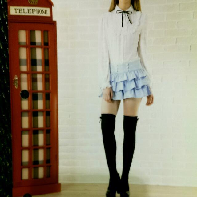 Knightsbridge 甜美雪紡襯衫