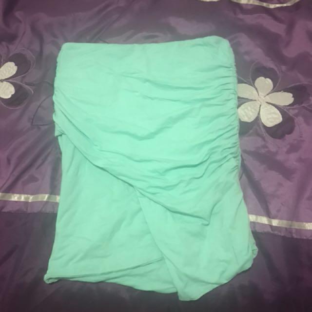 Kookai size 1 green skirt