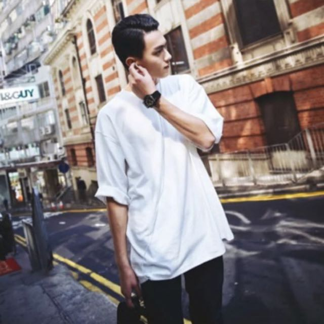 Korean Oversized T Shirt Men S Fashion Clothes On Carousell
