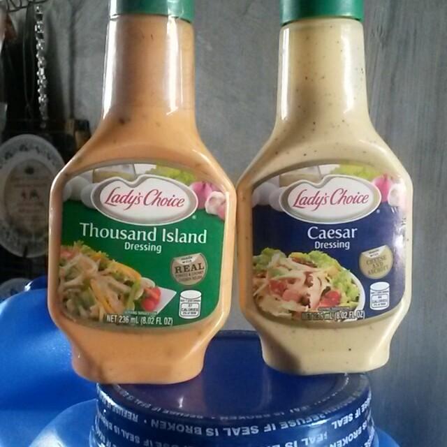 Ladys Choice Salad Dressings Food Drinks On Carousell