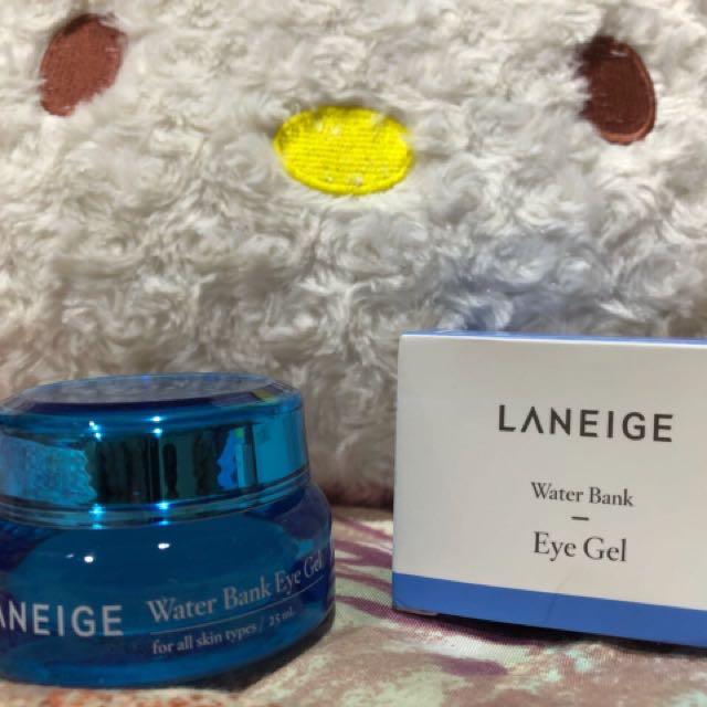 Laneige waterbank eye gel