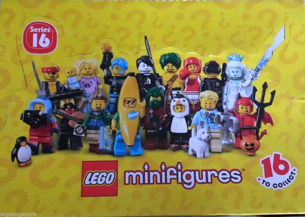 LEGO Minifigures 71013 SERIES 16  PENGUIN SUIT BOY New Unopened Factory Sealed