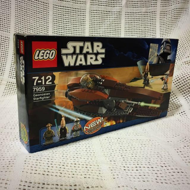 Lego 7959 Star Wars Genosian Starfighter NEU !