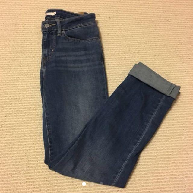 Levi's slim jeans-27W