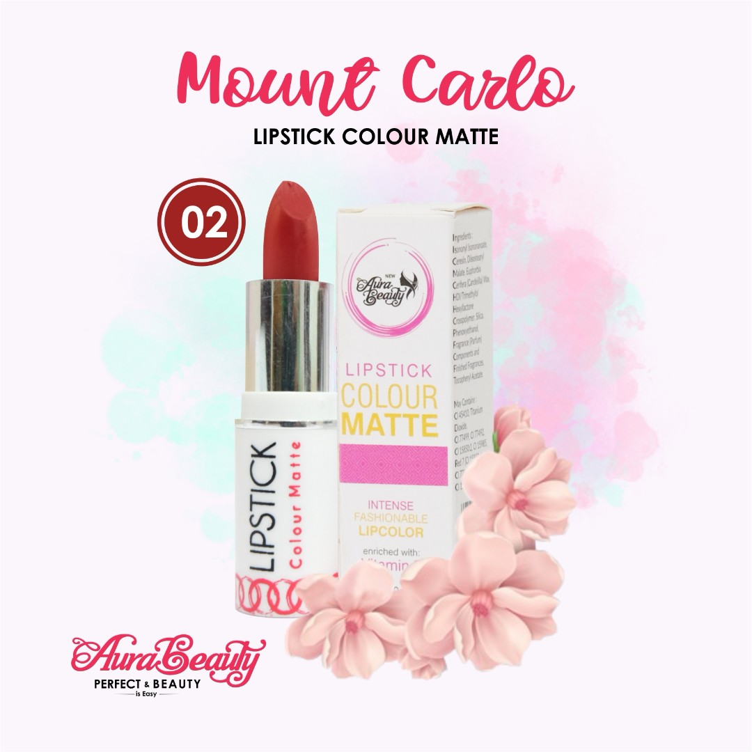Aura Beauty Lipstik Matte PROMO TERMURAH Tahan Lama Dengan Hasil Yang Matte