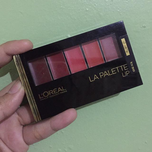 L'oreal La Palette Lip (Ombre Lips)