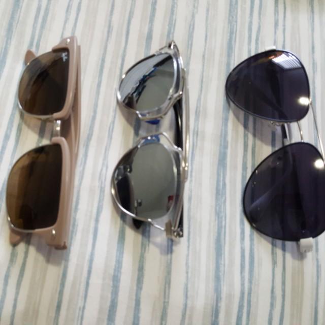 Lots of Sunglasses