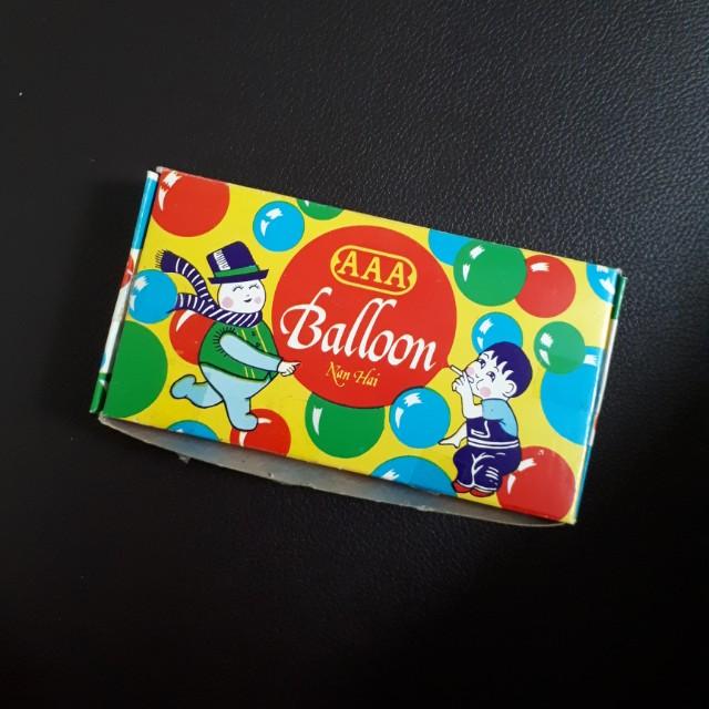 Mainan Tiup Balon Jaman Dulu