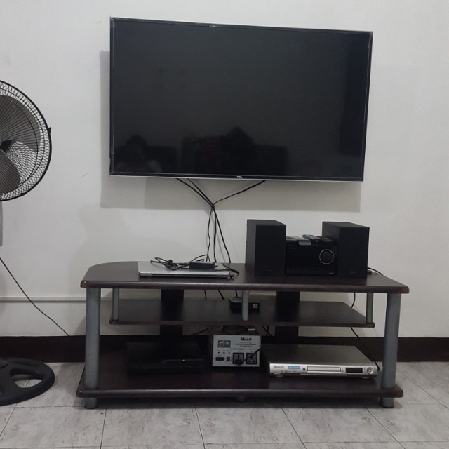 Malaysian wood tv stand free deliver Metromanila