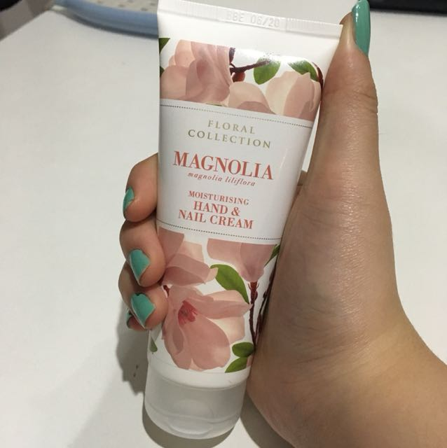 Marks and Spencer Magnolia hand and nail moisturizing cream ...