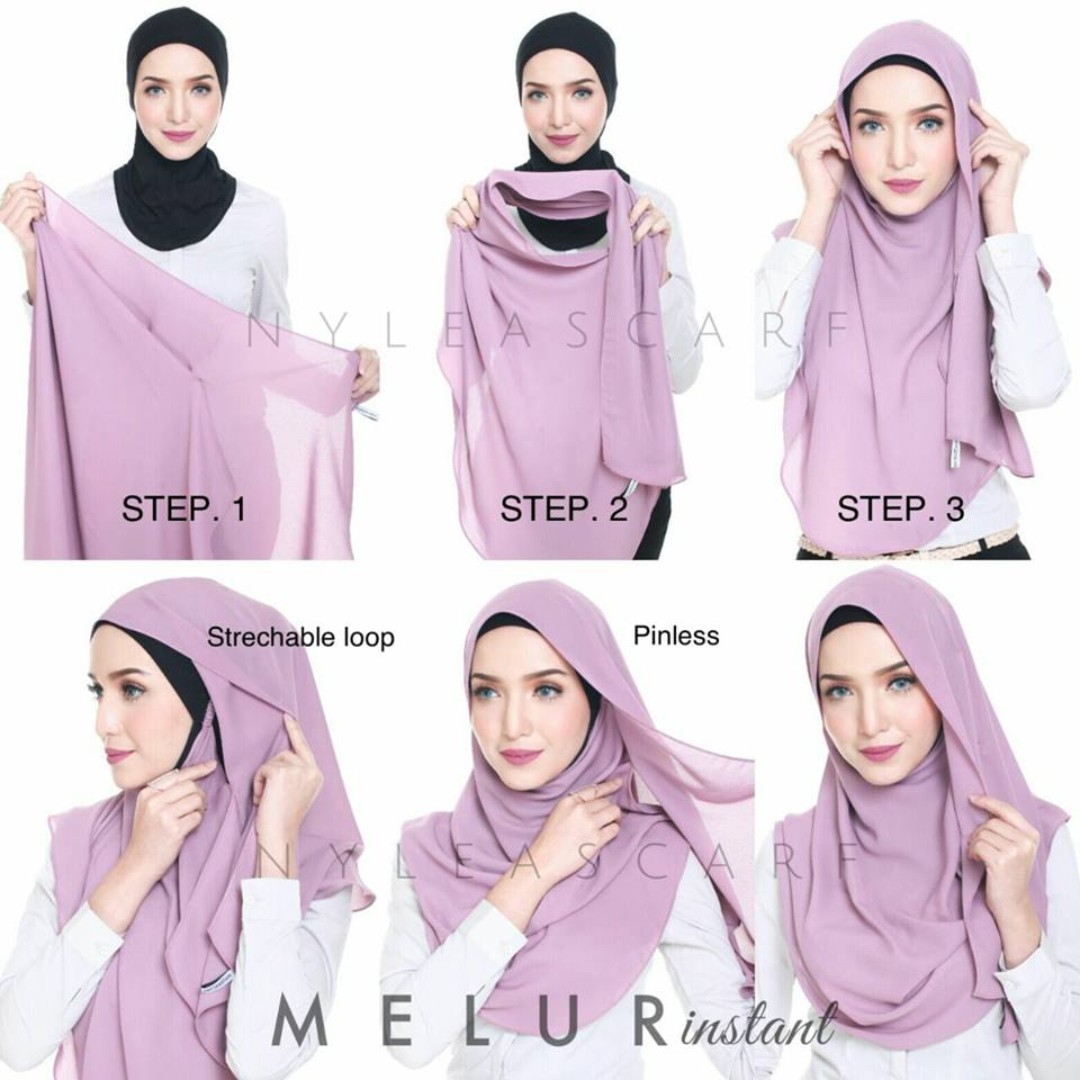 One Loop Pashmina Instan Sakura Series Baby Pink Spec Dan Daftar Hijab Hana 1 Melur Chiffon Instant Shawl L Rosewater Womens Fashion Muslimah On Carousell