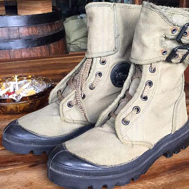 65fbdef1e25 Wissart Military Boots , Men's Fashion, Footwear, Boots on Carousell