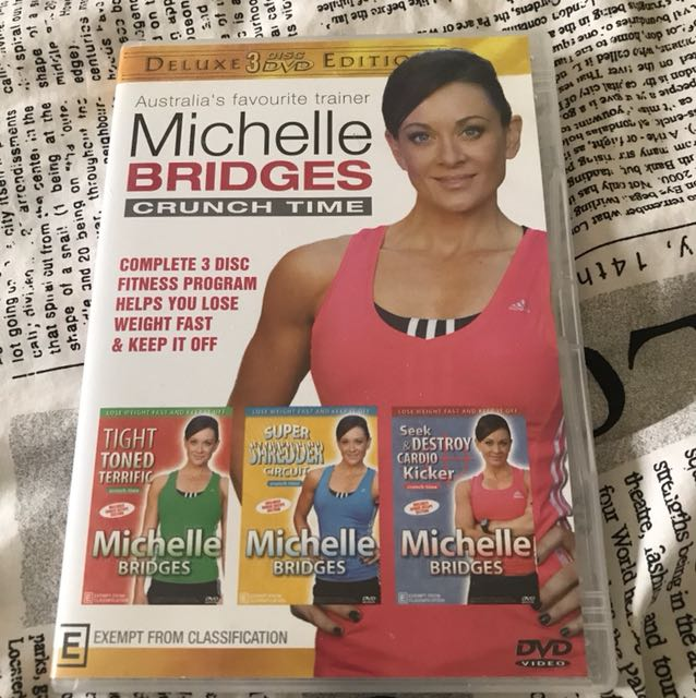 Michelle Bridges CRUNCH TIME
