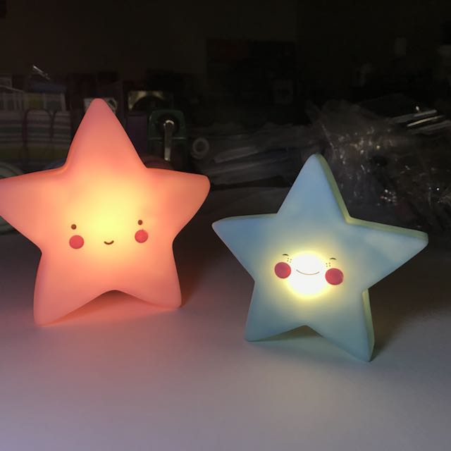 Mini LED Night Lamps (Stars)