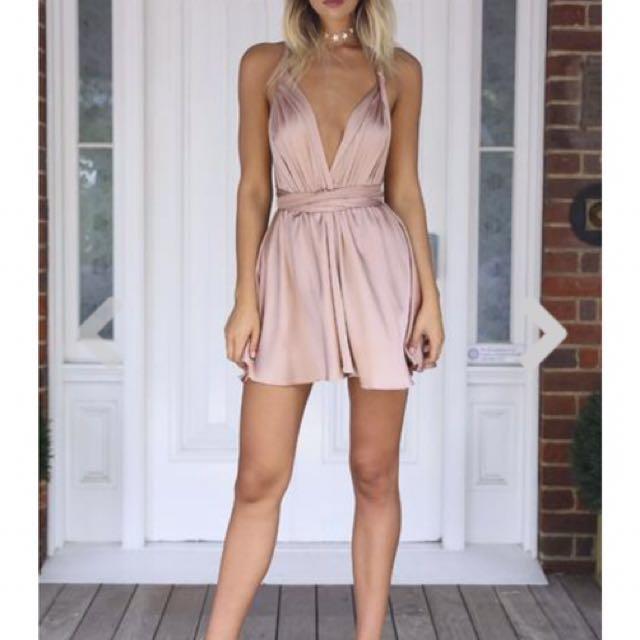 Mocha First Date Dress