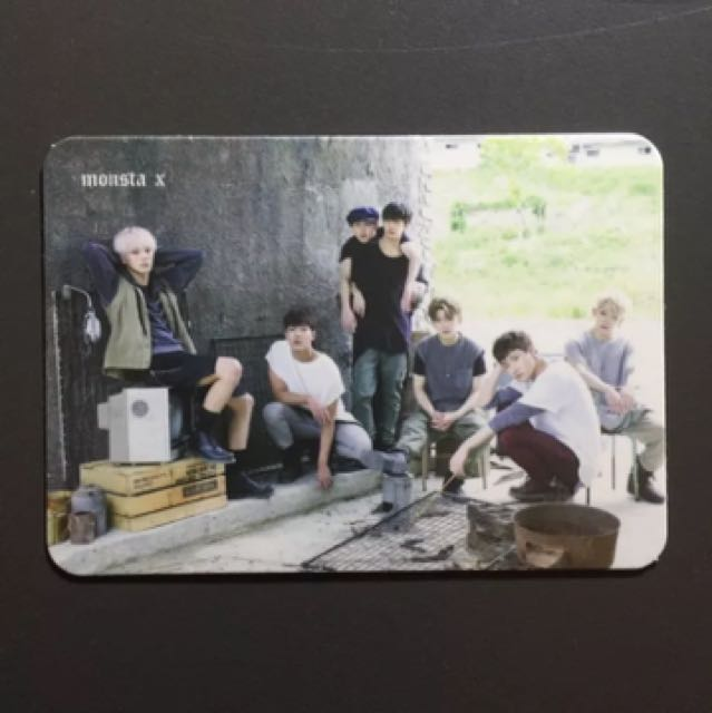 MONSTA X The Clan Part 1 Lost lost ver. w/ group pc