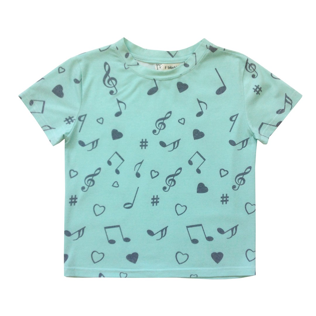 Music Cropped Tee