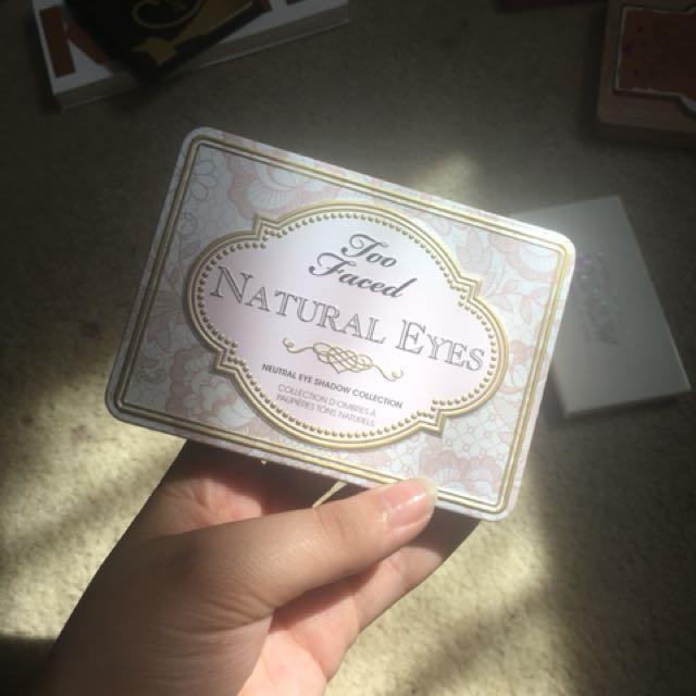 Natural Eyes Palette