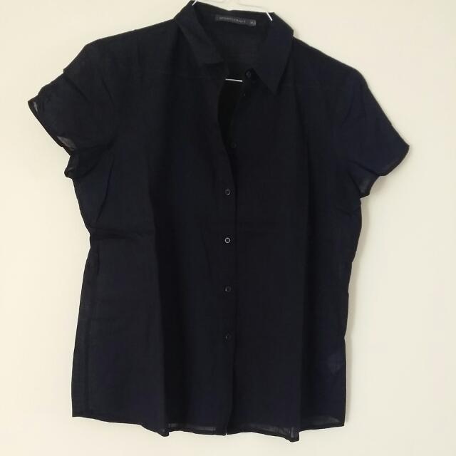 Navy Cotton shirt