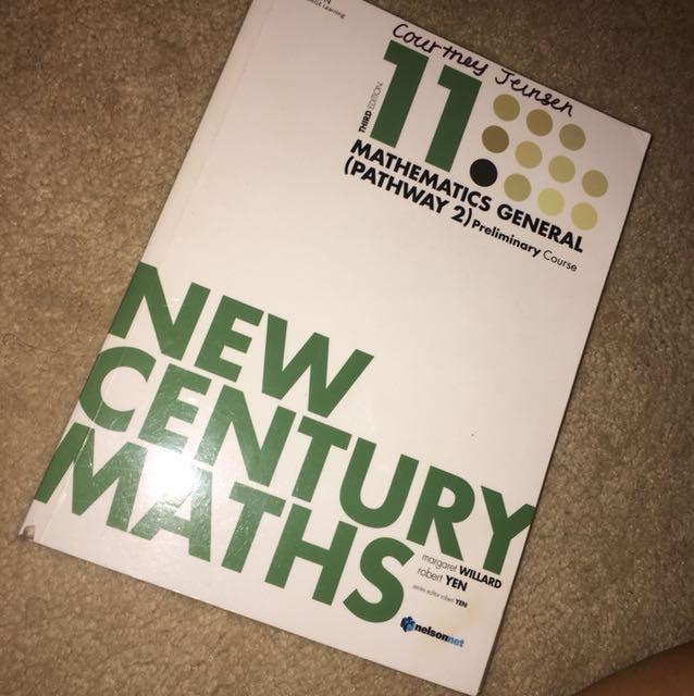 NEW CENTURY MATHS GENERAL TEXTBOOK