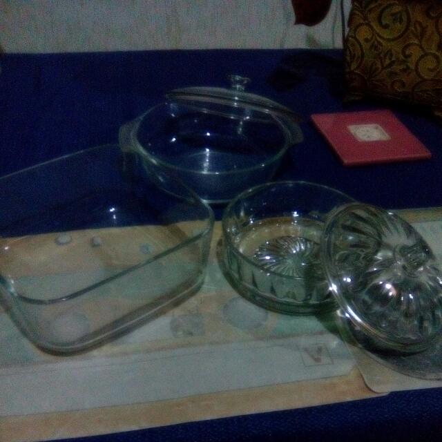 New Glasswares From America, 5 PCs,1 Set