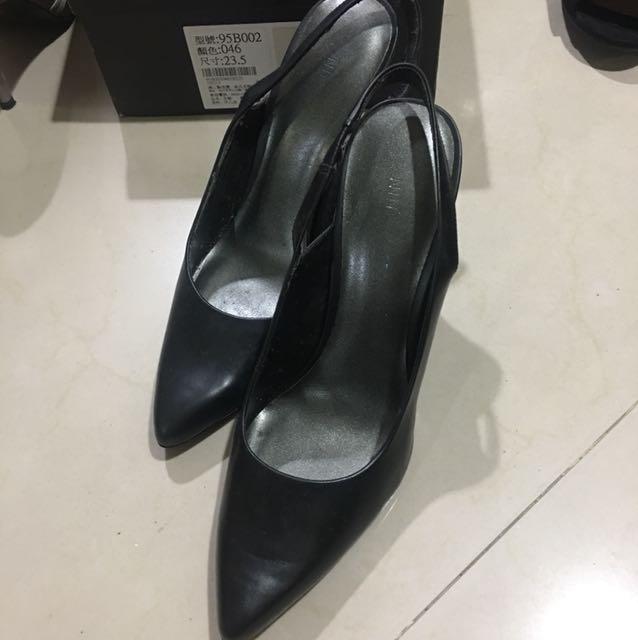 NineWest氣質黑高跟鞋