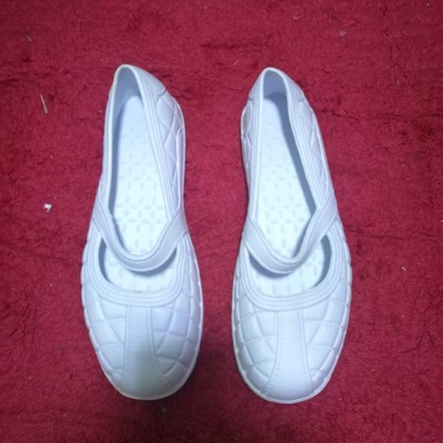 Nurse White Shoes PVC material