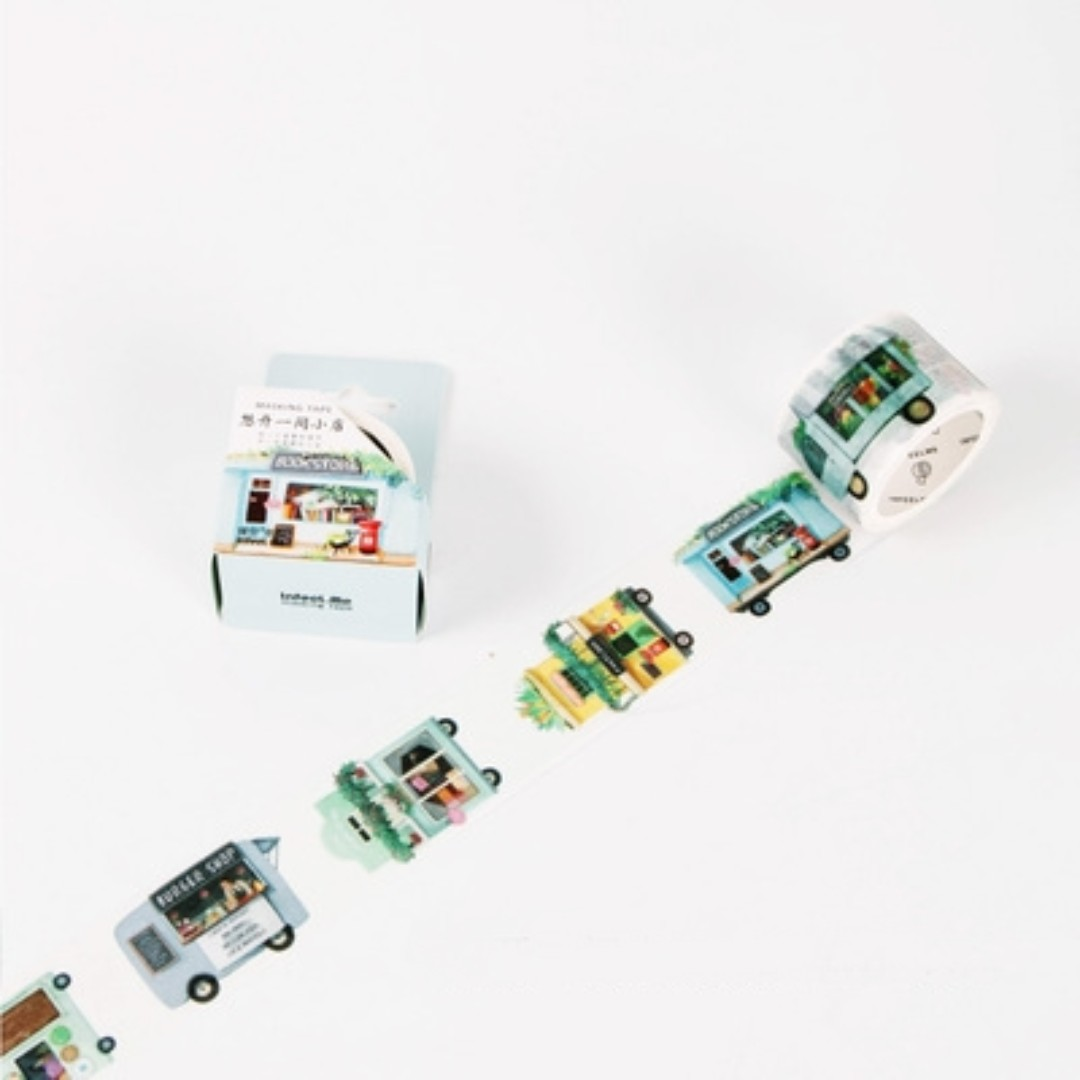 Opening A Shop Dream Washi Tape