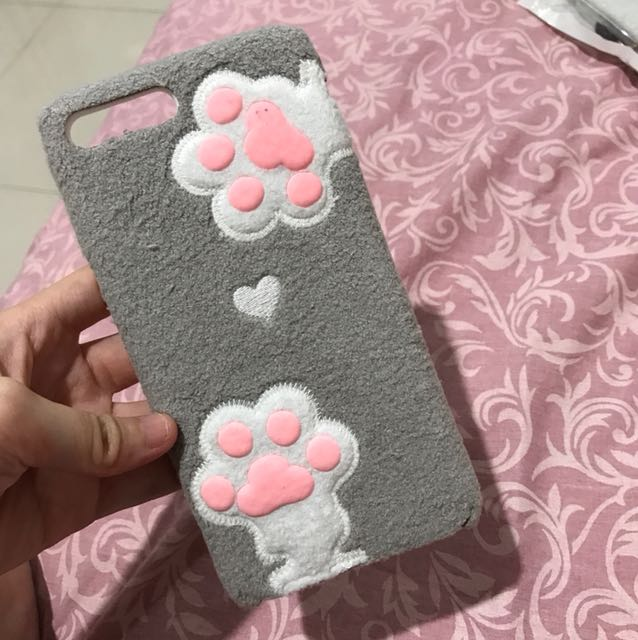 Paw softcase (iphone 7+)