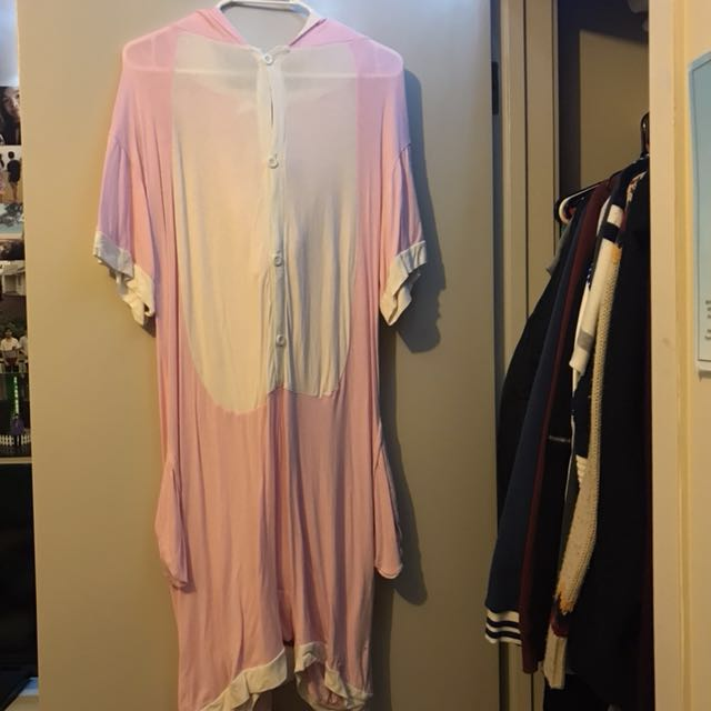 Pink Dinosaur summer onesie