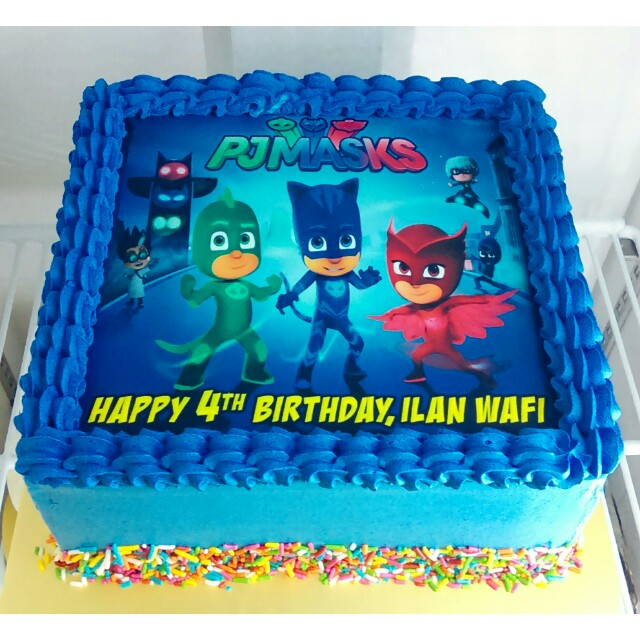 Pj Masks Birthday Cake Singapore